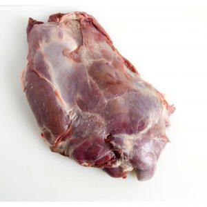 Paleta de carne de gamo sin hueso deshuesada