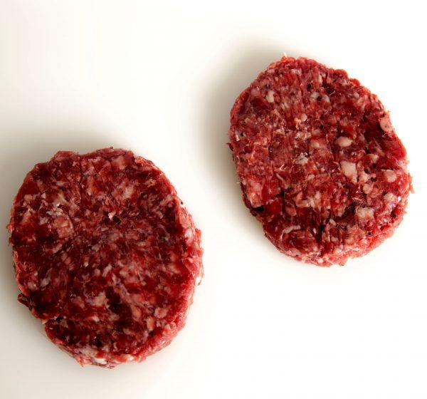 Hamburguesa de carne de ciervo