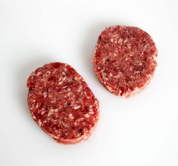 Hamburguesa de carne de jabalí