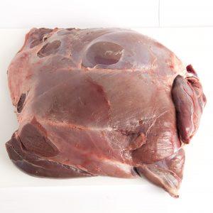Pata de carne ciervo sin hueso deshuesada