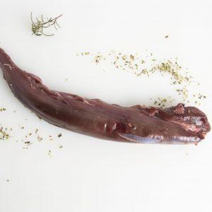 Solomillo de ciervo carne de caza