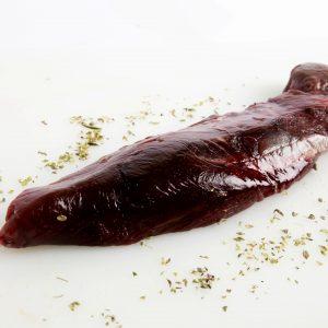 Solomillo de carne de corzo