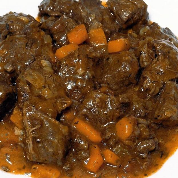 Carne de Ciervo en Salsa