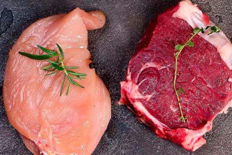 Carne Roja Vs Carne Blanca