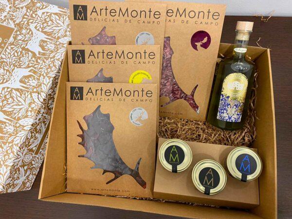 Cestas De Navidad Lote 5 Surtido De Jaén Aceito Y Artemonte
