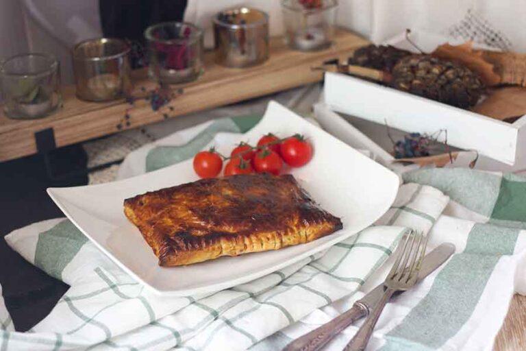 Empanada De Cecina De Ciervo Al Tomillo