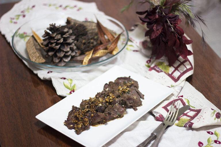 Filetes De Jabalí Al Ajillo