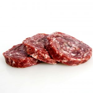 Hamburguesa loncheada de carne de corzo