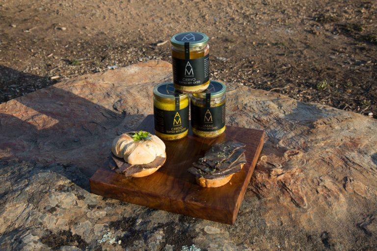 Productos de caza para comer