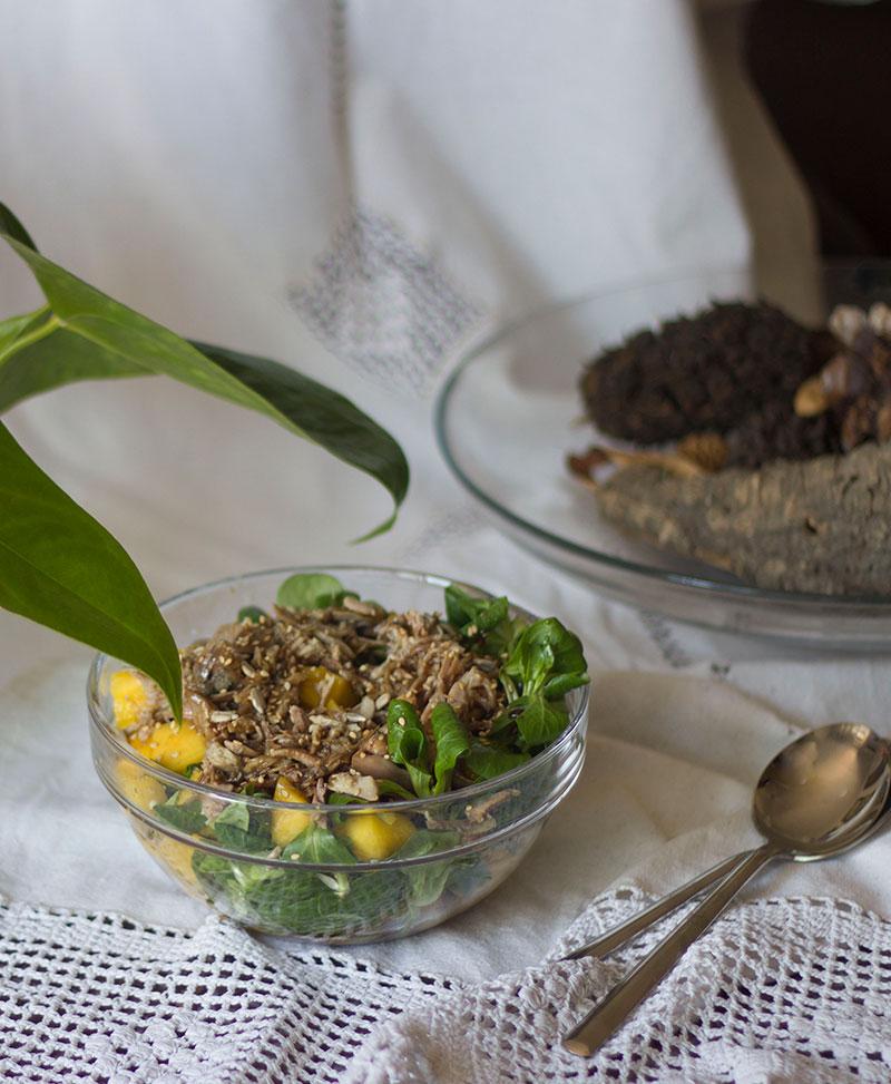 Receta Ensalada De Perdiz Y Mango