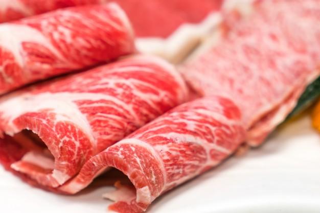 Salud en tu mesa carne fresca cruda