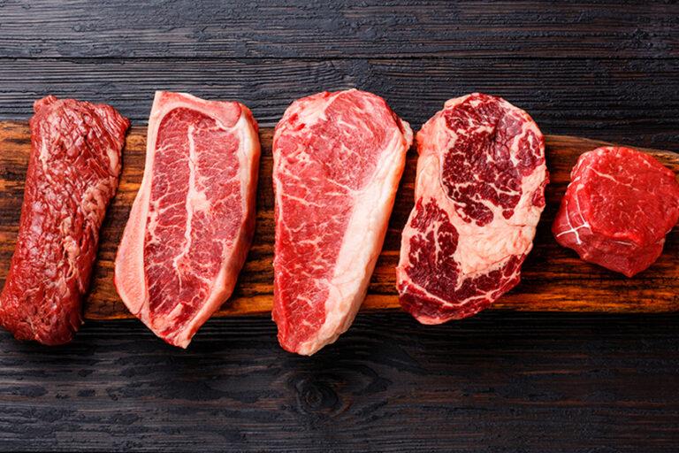 Corte De La Carne Y Sus Tipos
