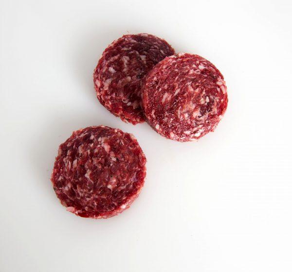 Mini hamburguesas de carne de ciervo