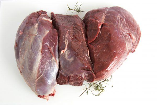 Pata de carne gamo sin hueso deshuesada
