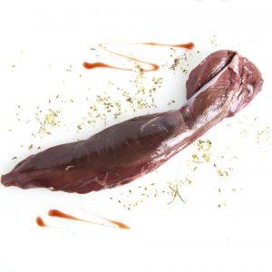 Solomillo de carne de jabalí